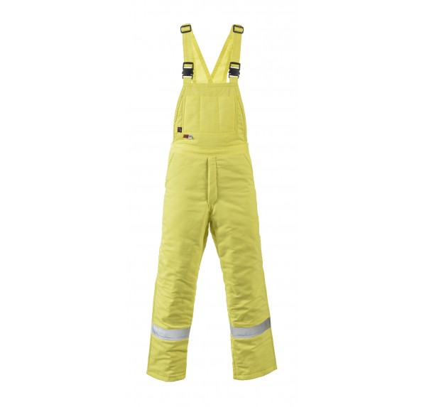 7 oz UltraSoft Hi-Vis Insulated Bib Overall w/10oz Moda Quilt Liner