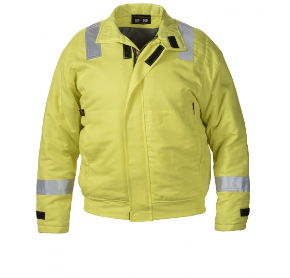 7 oz UltraSoft Hi-Vis Insulated Work Jacket w/10oz Moda Quilt Liner