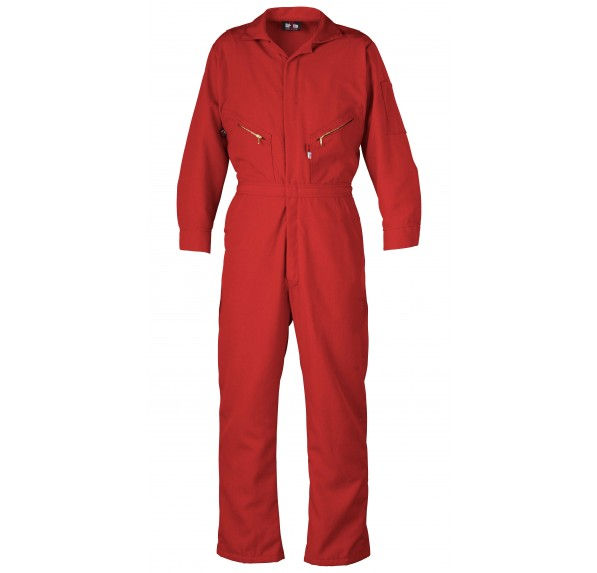 4.5 oz Nomex IIIA Zippered Front Oil Field Coverall