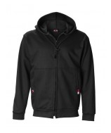 11 Oz Ultrasoft Cotton Zippered Fleece Hooded Sweatshirt