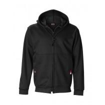11 Oz Ultrasoft Cotton Zippered Fleece Hooded Sweatshirt