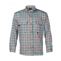 7.5oz Plaid Deluxe Dress Shirt