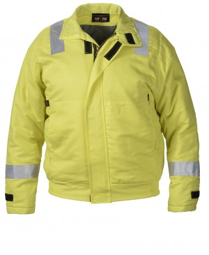 7 oz UltraSoft Hi-Vis Insulated Work Jacket w/10oz Moda Quilt Liner